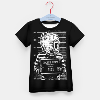 Thumbnail image of LOL Mugshot Kid's t-shirt, Live Heroes