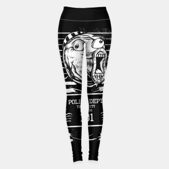 Thumbnail image of LOL Mugshot Leggings, Live Heroes