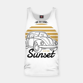Miniature de image de Go Outside and Get More Sunset Tank Top, Live Heroes