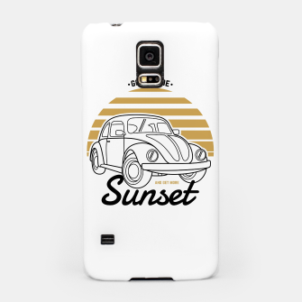 Miniature de image de Go Outside and Get More Sunset Samsung Case, Live Heroes
