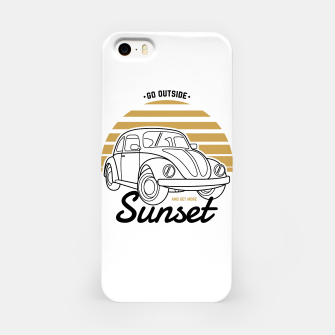 Miniature de image de Go Outside and Get More Sunset iPhone Case, Live Heroes