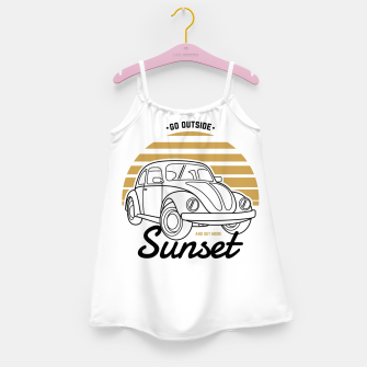 Miniature de image de Go Outside and Get More Sunset Girl's dress, Live Heroes