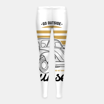 Miniature de image de Go Outside and Get More Sunset Girl's leggings, Live Heroes