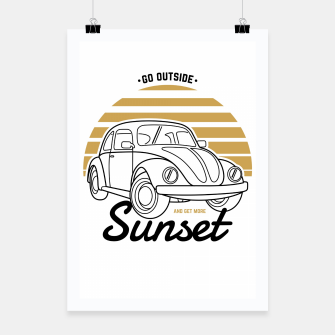 Miniature de image de Go Outside and Get More Sunset Poster, Live Heroes