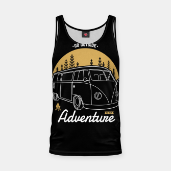 Miniatur Go Outside to New Adventure Tank Top, Live Heroes