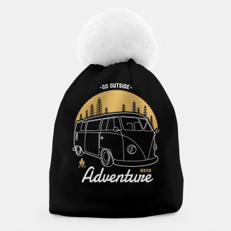 Miniatur Go Outside to New Adventure Beanie, Live Heroes