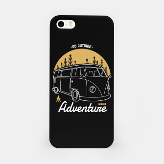 Miniatur Go Outside to New Adventure iPhone Case, Live Heroes