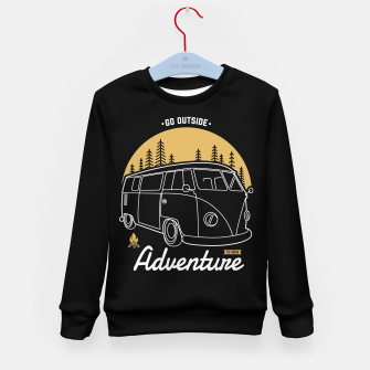 Miniatur Go Outside to New Adventure Kid's sweater, Live Heroes