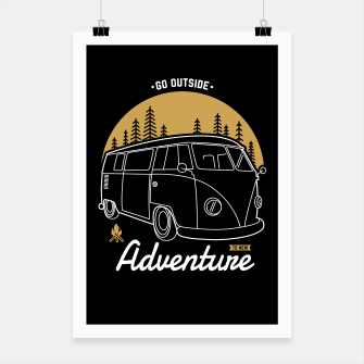 Miniatur Go Outside to New Adventure Poster, Live Heroes