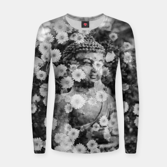 Thumbnail image of Buddha Women sweater, Live Heroes