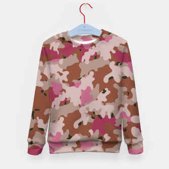 Thumbnail image of Camouflage 96  Kid's sweater, Live Heroes