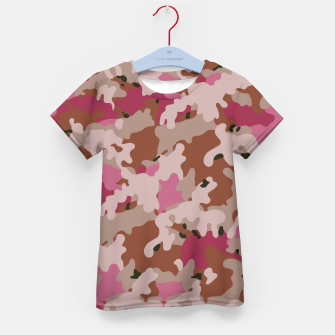 Thumbnail image of Camouflage 96  Kid's t-shirt, Live Heroes
