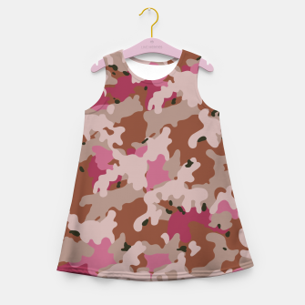 Thumbnail image of Camouflage 96  Girl's summer dress, Live Heroes
