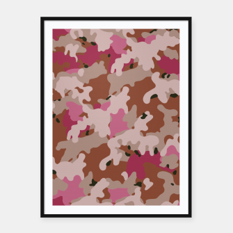 Thumbnail image of Camouflage 96  Framed poster, Live Heroes
