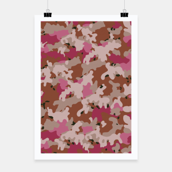Thumbnail image of Camouflage 96  Poster, Live Heroes