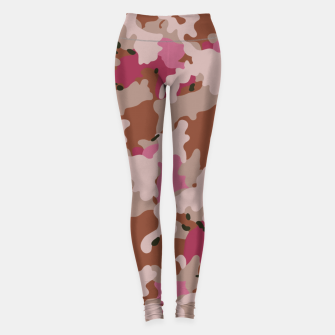 Thumbnail image of Camouflage 96  Leggings, Live Heroes