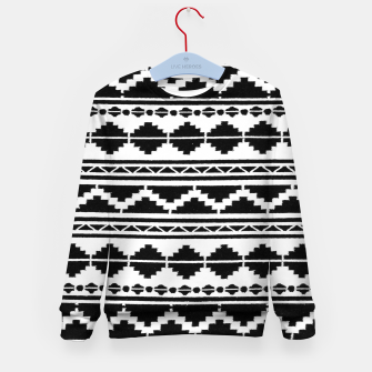 Thumbnail image of Vintage Ethnic Anthropologie Moroccan Artwork. Kid's sweater, Live Heroes