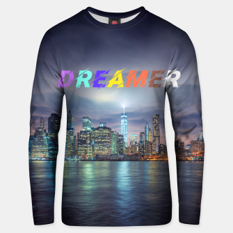 Thumbnail image of City Dreamer Unisex sweater, Live Heroes