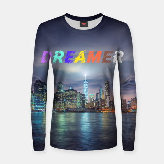 Thumbnail image of City Dreamer Women sweater, Live Heroes