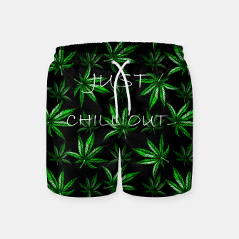 Miniatur Chill Out Swim Shorts, Live Heroes