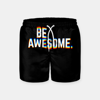 Miniature de image de Be Awesome Swim Shorts, Live Heroes
