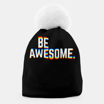 Thumbnail image of Be Awesome Beanie, Live Heroes