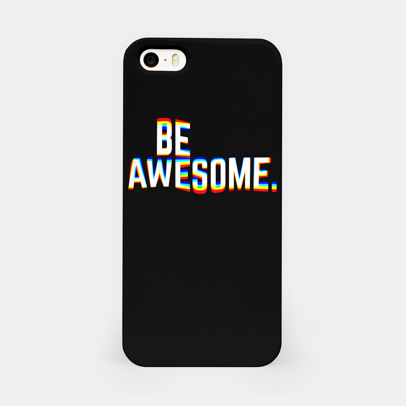 Image de Be Awesome iPhone Case - Live Heroes