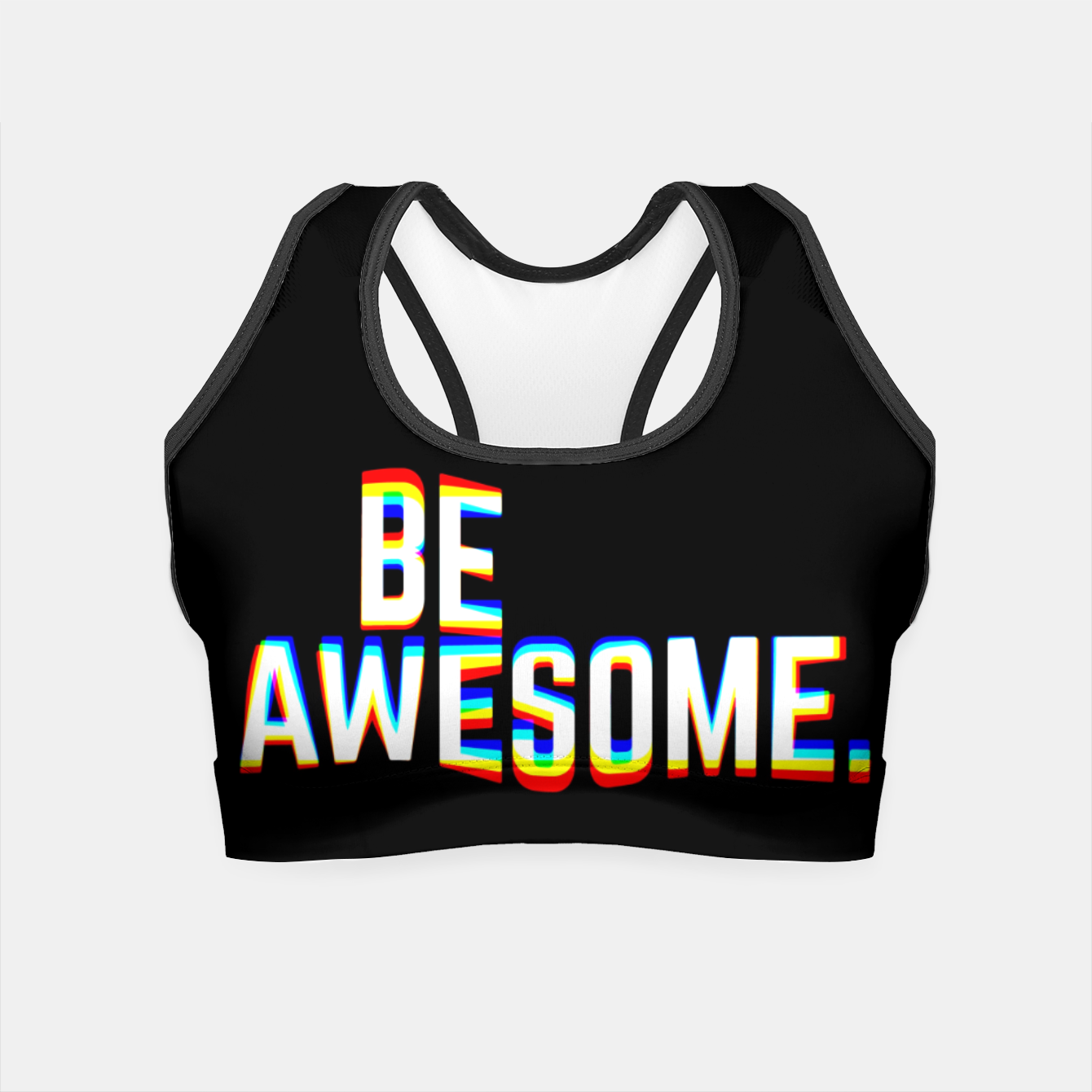 Image of Be Awesome Crop Top - Live Heroes