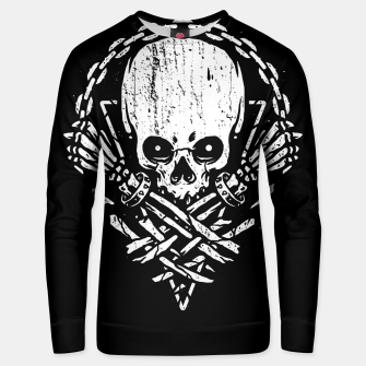 Miniatur Death by Squence Unisex sweater, Live Heroes