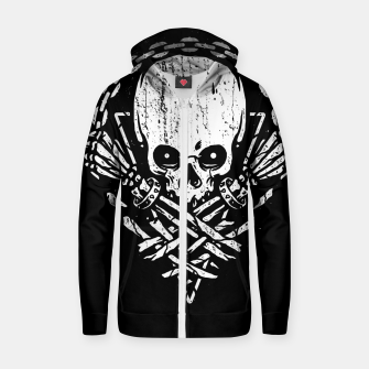 Miniatur Death by Squence Zip up hoodie, Live Heroes