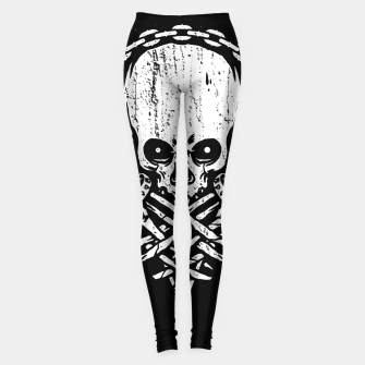 Miniatur Death by Squence Leggings, Live Heroes