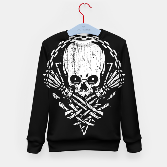 Miniatur Death by Squence Kid's sweater, Live Heroes
