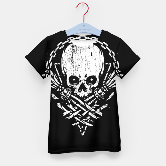 Miniatur Death by Squence Kid's t-shirt, Live Heroes