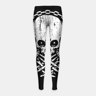 Miniatur Death by Squence Girl's leggings, Live Heroes