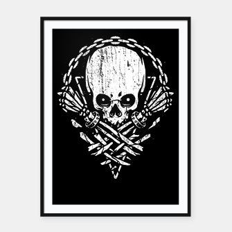 Miniatur Death by Squence Framed poster, Live Heroes
