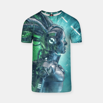 Thumbnail image of The Little Carbon Girl T-shirt, Live Heroes