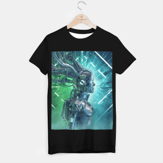 Thumbnail image of The Little Carbon Girl T-shirt regular, Live Heroes