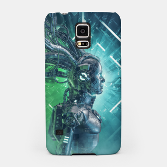 Thumbnail image of The Little Carbon Girl Samsung Case, Live Heroes