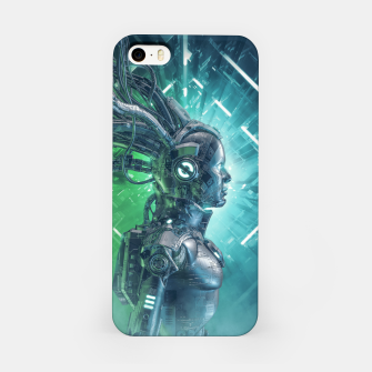 Thumbnail image of The Little Carbon Girl iPhone Case, Live Heroes