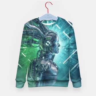 Thumbnail image of The Little Carbon Girl Kid's sweater, Live Heroes