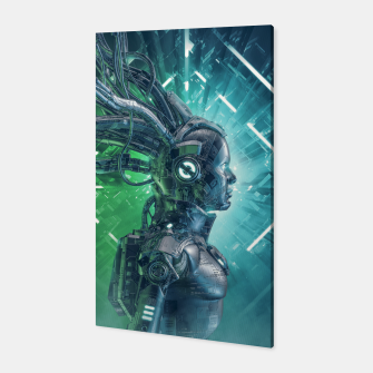 Thumbnail image of The Little Carbon Girl Canvas, Live Heroes