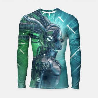 Thumbnail image of The Little Carbon Girl Longsleeve rashguard , Live Heroes