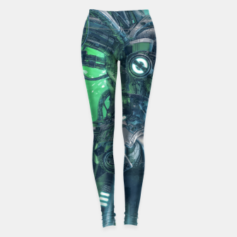 Thumbnail image of The Little Carbon Girl Leggings, Live Heroes