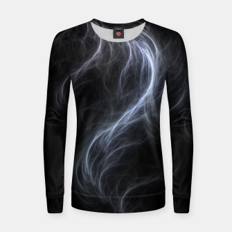 Filament Cloud Fractal Art Women sweater thumbnail image