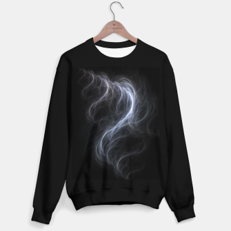Filament Cloud Fractal Art Sweater regular thumbnail image