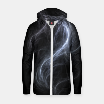 Filament Cloud Fractal Art Zip up hoodie thumbnail image