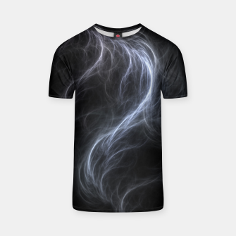 Filament Cloud Fractal Art T-shirt thumbnail image