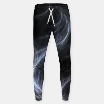 Filament Cloud Fractal Art Sweatpants thumbnail image