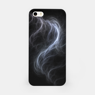 Filament Cloud Fractal Art iPhone Case thumbnail image