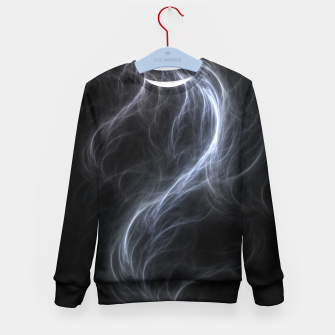 Filament Cloud Fractal Art Kid's sweater thumbnail image